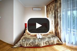 Hotelszoba gömbpanoráma